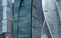 Moscow International Business Center, Russia - stock photo