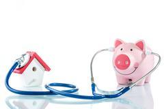 Home loan health check Stock Photos
