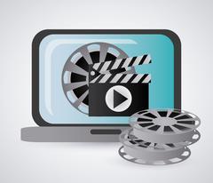 Cinema Icons vector design Stock Illustration