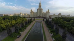 Moscow State University Stock Footage