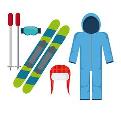Winter Sport design Stock Illustration