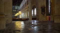 Nieuwe Kerk (New Church) Interior, Delft, Netherlands 4K Stock Footage