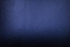 Frosted glass deep blue - stock photo