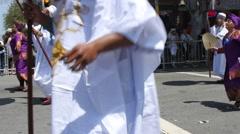 San Francisco Carnaval Stock Footage