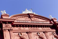 Petruzzelli theatre below angled - stock photo