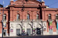 Petruzzelli theatre front contrast - stock photo