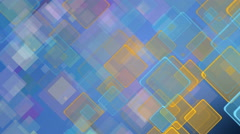 Color motion background with animated squares., UHD 4k 3840x2160. - stock footage