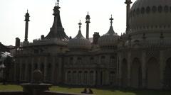 Royal Pavilion Palace Close up Stock Footage