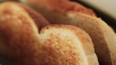 Toast popping up Stock Footage