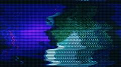 Abstract VJ lights  signal - stock footage