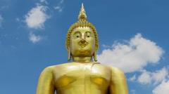 Temple Wat Muang Stock Footage