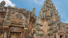 Castle Phanom Rung Stock Footage