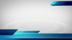 Three blue Low third bar for broadcasting style 1 - stock footage