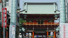 Kanda Myojin Shinto Shrine - stock footage