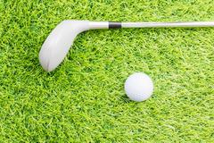 Sport object related to golf equipment - stock photo