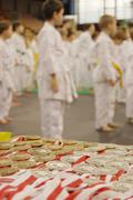 Karate tournament Stock Photos