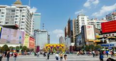 Kunming Cityscape Timelapse Stock Footage