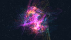 Spiral Galaxy Milky Way Stock Footage