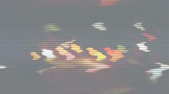 Lights loop signal  Stock Footage
