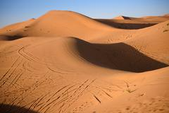 Dunes, Morocco, Sahara Desert Stock Photos