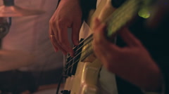 Guitarist plays. RAW video record Arkistovideo