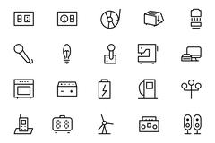Electronics Vector Collection - stock illustration