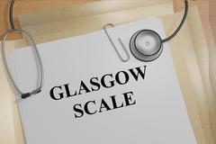 Glasgow Scale medical concept Stock Illustration