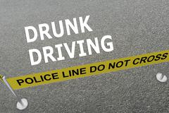 Drunk Driving concept Stock Illustration