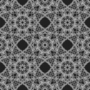 Seamless Texture on Grey. Ornamental Backdrop. - stock illustration