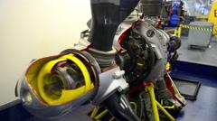 Aircraft Propeller Stock Footage