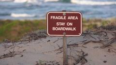 Asilomar Scenic Pacific Grove, Monterey coastline Stock Footage