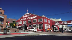 Monterey Cannery Co. Cannery Row - stock footage