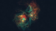 Spiral Galaxy Milky Way - stock footage