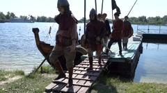 Medieval Slavic crew landed Arkistovideo
