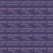 Latest news seamless patterns Stock Illustration