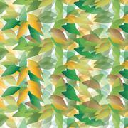 Random leaves background Stock Illustration