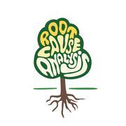 root cause analysis tree vector - stock illustration