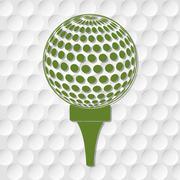 Golf sport design - stock illustration