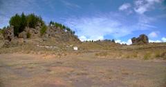 Landscape Peru (Cumbemayo) Cajamarca, Peru Stock Footage