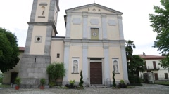In italy  religion  building Stock Footage