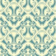 antique seamless pattern - stock illustration