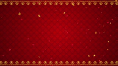 Indian Wedding theme Seamless motion background - stock footage