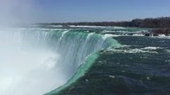 Niagara Falls Waters Edge - stock footage