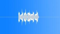 Marimba panic 1 Sound Effect