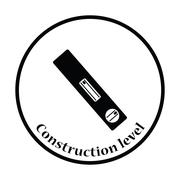 Icon of construction level Stock Illustration