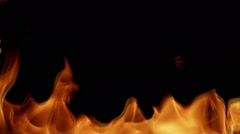 Realistic Fire. HD, loopable Stock Footage