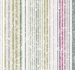 Seamless burn colors grunge style shabby stripe pattern. Vector illustration  - stock illustration