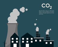 Global warming design - stock illustration