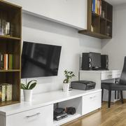 Relax space in living room Stock Photos