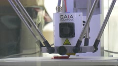 High Temperatures Festival Wroclaw 3d Printing Casting Molds Preparation With Stock Footage